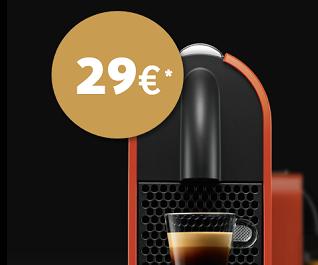 black friday nespresso m quinas a 29 300 c psulas. Black Bedroom Furniture Sets. Home Design Ideas